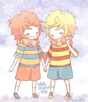 Lucas and Claus for Vale by flanpu