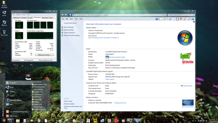 Windows 7 on Buster - Xeon Inside by slowdog294