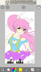 Wip of what I'm working of XD by bonniethebunny2000