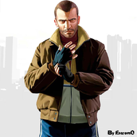 GTA 4 - Grand Theft Auto IV by themeart