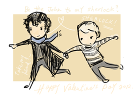 Handchuffed for Valentine's by Angiyr