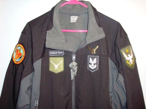 Halo Reach Noble Team Jacket by baggs