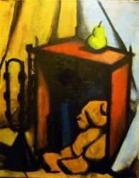 Max Beckmann Inspired Still Life 2 by AshyMashy