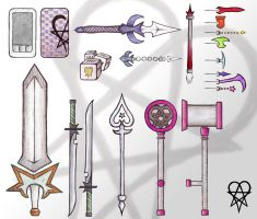 Nobody Weapon Designs by TheForgtten