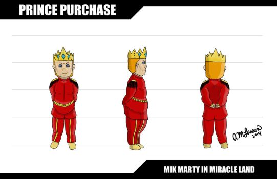 Character Design: Prince Purchase by Angelique-Mae