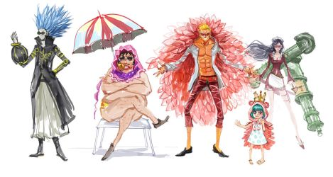 one piece fan art 2 by zhuzhu