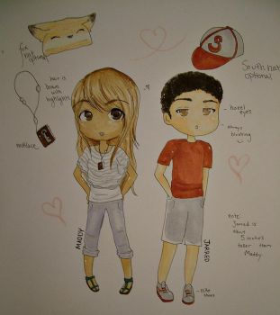 .:Ref:. Jarred and Maddy by Hasanti