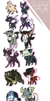 [DRV3] My Animal Character Designs by DespairGriffin