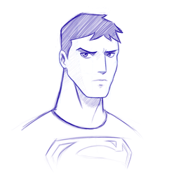 Superboy sketch by vannickArtz
