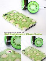 Kiwi Headphones iPhone4 Case by PeterPan-Syndrome