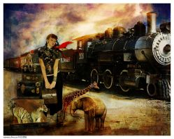 Her Travelling Menagerie by Foxfires