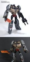 Classics Grimlock from FoC by Unicron9