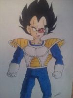 Vegeta by android17lover