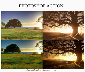 Photoshop Action Good Morning Sun by OhBlunt