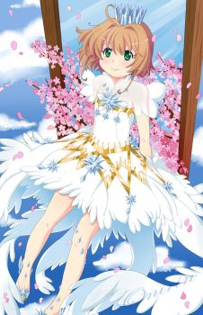 Card Captor Sakura Feather dress by Onirin