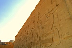 Egyptian Hieroglyphics 3 by mynando