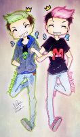 Cosmo! Jack and Wanda! Mark by karinchan97