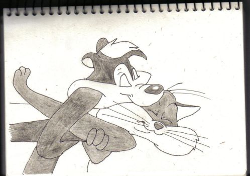 Pepe Le Pew by hellfire321
