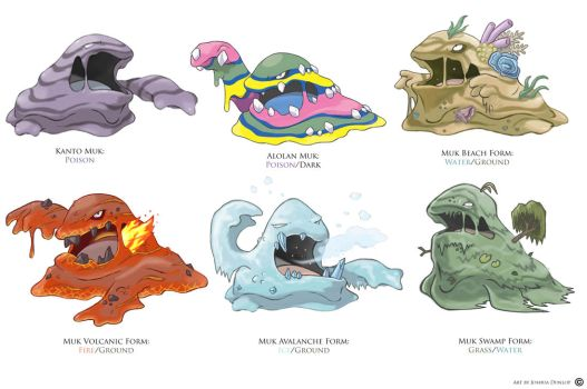 Muk Forms by JoshuaDunlop