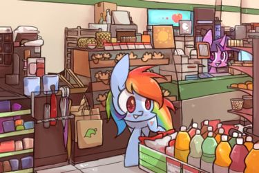convenience store by joycall3