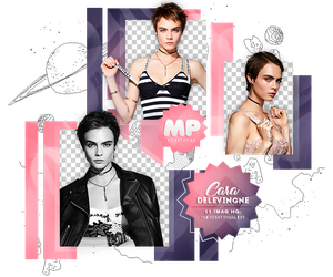PACK PNG 1110| CARA DELEVINGNE by MAGIC-PNGS