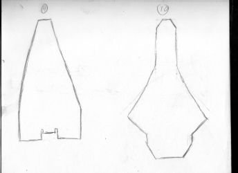 Ferrum imperium Rough Ship hull Concepts 9-10 by Commander-Fillmore