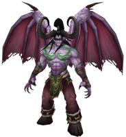 WoW Illidan Stormrage Cut Out by atagene