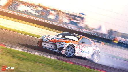 GT86_drift_Pixar Cars by DURCI02