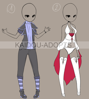 [CLOSED] Outfit Adopt 3 and 4 by Kaidou-adopts
