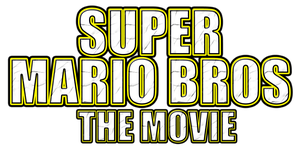 Super Mario Bros The Movie Logo by AsylusGoji91