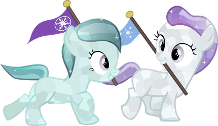 Crystal Fillies by Vector-Brony