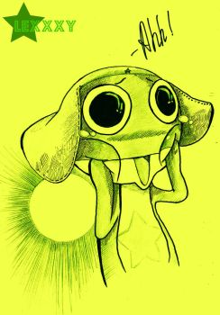 I'm crying:Keroro by DatLoon