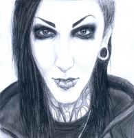 Chris Motionless by A7Xserbia98