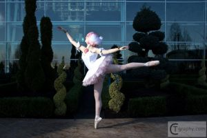 Princess Tutu Cosplay: Arabesque by HatterSisters