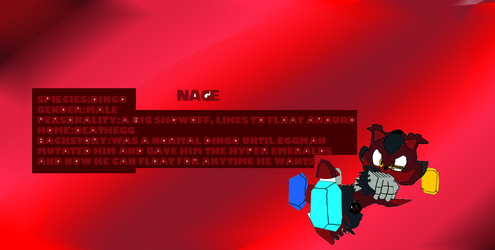 Nage My newest oc by Pkwave