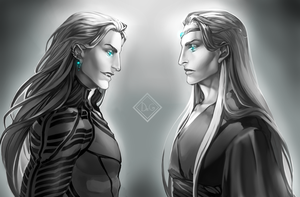 Jeliel and Lauviah (DrGriswald) by Isklive