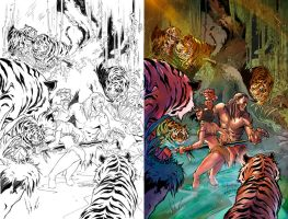 Jungle Book cover FOTW #3D Zenescope by le0arts