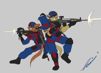 The SWAT Kats 2011 by Carge