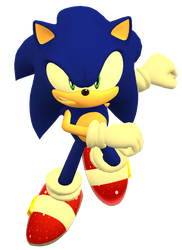 [ MMDxSonic ] Sonic Forces render by Hendersony