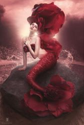 Rose Mermaid by michellemonique
