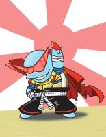 Squirtle Squad Kamina by webslinger9