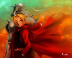 Edward and Alphonse by Talexior