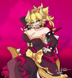 Bodacious Bowsette by tlwelker