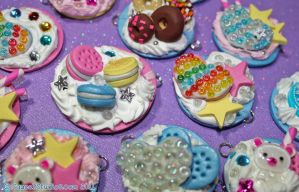 Sugar High Sweet Lolita Charms by squeekaboo