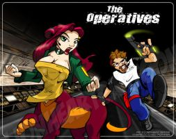 The Operatives by Lionheartcartoon