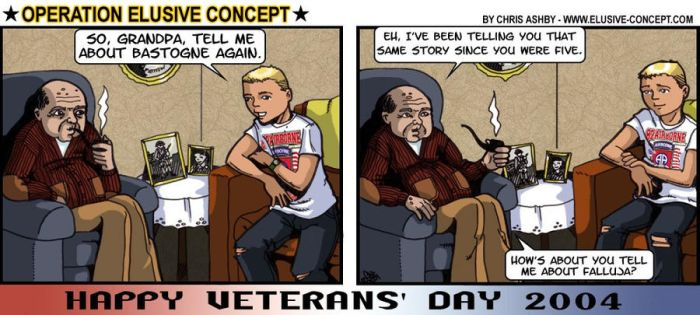 OEC - Veterans Day 2004 by MauserGirl