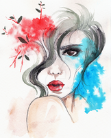 Watercolor - Delicate by sahdesign