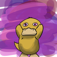 Psyduck Speedpaint by altimis