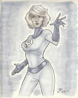 Invisible Woman by jbugx