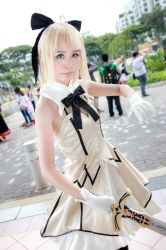 Fate/Grand Order - Saber Lily by Xeno-Photography